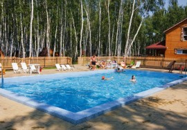Продаётся база отдыха в Новосибирской области
