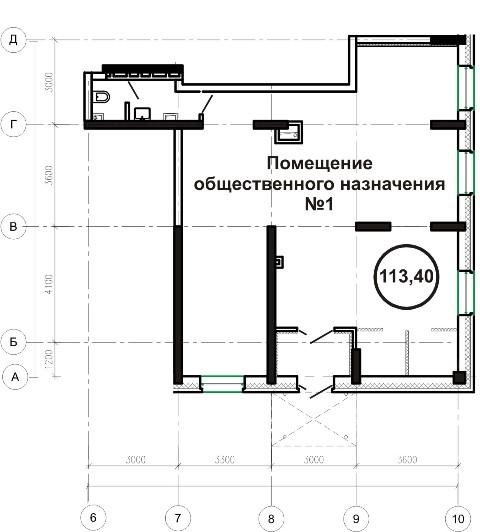 1 дом офис 113,4 кв м